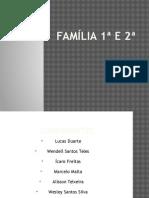 Família 1ª e 2ª quimica