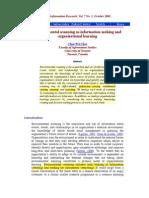 Environmental Scanning as Information Seeking Organizational Learning