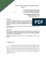 ASPECTOS PRINCIPIOLÓGICOS DO CONTROLE DA ADMINISTRAÇÃO PÚBLICA