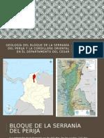 Hidrogeología, Geologia Serranias de Perijá y Cordillera Oriental Sector Norte