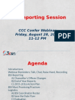 CVRN BSI Reporting Sessions_Fall_2015fv PPT