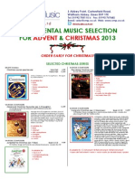 Christmas Instrumental Selection 2013