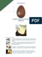Como fazer ovos de páscoa
