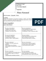 Plano de Aula Do Dia 04 a 08 de Maio de 2015