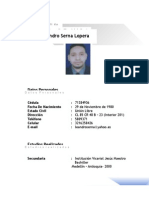 Hoja de Vida Leandro Serna