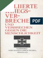 Alliierte Kriegsverbrechen Und Verbrechen Gegen Die Menschlichkeit_Vorwort Von Hans Ulrich Rudel_Buenos Aires_1953_text