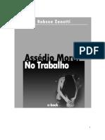 Livro Robson Zanetti Assedio Moral