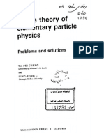 Cheng - Gauge Theory of Elementary Particle Physics