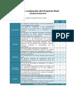 Ficha de Evaluación Autoevaluación