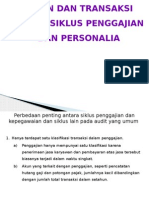Audit 2 siklus penggajian dan personalia