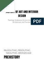 Prehistoric - History of Art and Interior Design