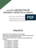 Aspek Lab Hepatitis a Dan B