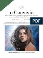 Il Convivio - Trimestrale Di Poesia Arte e Cultura Dell Accademia Internazionale
