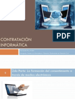 02 Contratación Informática. 2da Parte. La Formación Del Consentimiento Por Medios Electrónicos