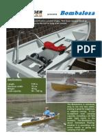 bombaloza Rowing boat