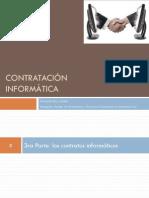 03 Contratación Informática. 3a Parte. Los Contratos Informáticos y Principios Del Comercio Electrónico