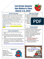 Newsletter March 1 2010