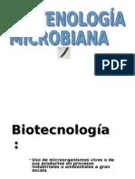 Microorganismos en Biotecnologia