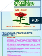 Disaster Management Personal Protective Equipment
