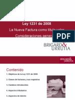 Presentacion Corta Ley Facturas