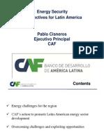 8 - Acciones de La CAF Con Energias Renovables - CAF - Pablo Cisneros - Venezuela