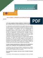 Instruções de Elaboração de Projeto de Pesquisa (DLM-FFLCH-USP)