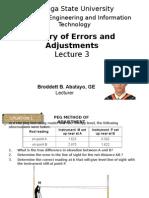 Level Adjustmets by Broddett Abatayo