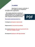11.Succession Planning