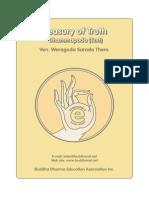 Weragoda Sarada Maha Thero - Treasury of Truth