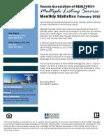 TREDaily.com - February 2010 Tucson Real Estate Market Statistics