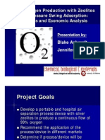 Oxygen Generator Presentation