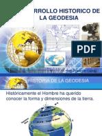 Capitulo i Historia de La Geodesia