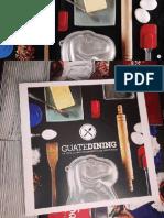 Colaboración en la revista Guatedining - Edición 21 - Octubre 2014