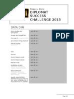 Proposal Bisnis DSC 2015 - Blank Template Logo