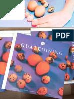 Colaboración en la revista Guatedining - Edición 22 - Diciembre 2014