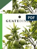 Colaboración en la revista Guatedining - Edición 24 - Abril 2015