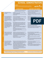 Consumer Guides for School Administrators and Ed Tech Vendors