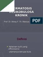 dermatosis vesikobulosa kronik