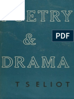 Eliot, T.S. - Poetry and Drama (Faber, 1951)