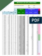 Explanaciones y Presupuesto - Alcantarilla 24pulg
