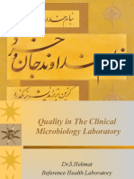 Quality in the Clinical Microbiology Laboratory 2