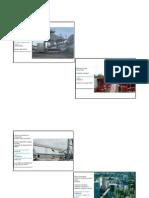 Equipos y Maquinas de Una Industria de Concreto