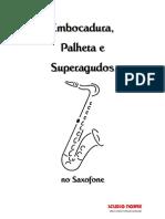 3998131 SAX ARTIGO Embocadura Palheta e Superagudos No Saxofone