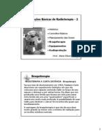 Noções Básicas de Radioterapia - 2