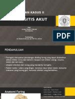 Lapsus Faringitis