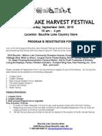 2015 Bl Harvest Festival Program