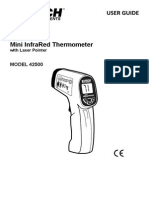 Extech Mini InfraRed Thermometer Model 42500