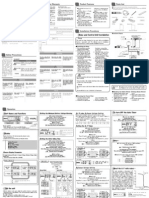 Apexi Installation Manual: Auto Timer for NA Turbo