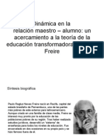 Paulo Freire - Diagramas
