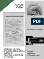 Actas Parroquiales de la  Catedral de Rosario